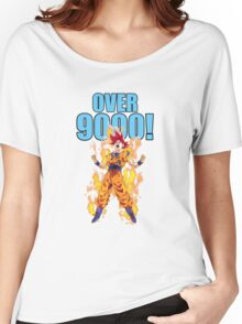 its over 9000 Women's Relaxed Fit T-Shirt