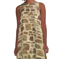 All in all you're just another *old* brick in the wall...  A-Line Dress