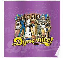 SuperWomen of the 70s - DyNoMite! Poster