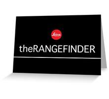 Leica RangeFinder M240 Greeting Card