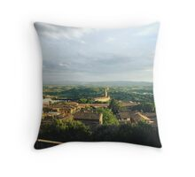 View from Perugia Throw Pillow