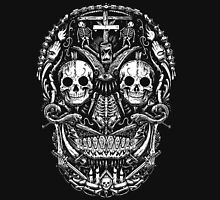 Satanic Abstract Skull Long Sleeve T-Shirt