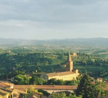 View from Perugia Sticker