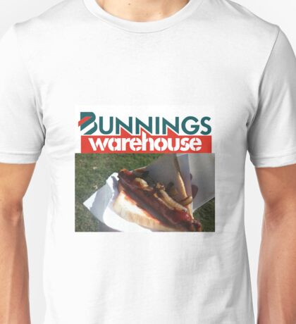 Bunnings Snag Unisex T-Shirt