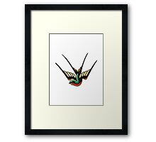 Swallow Framed Print