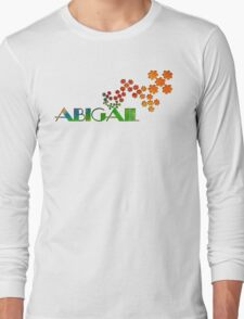 The Name Game - Abigail Long Sleeve T-Shirt