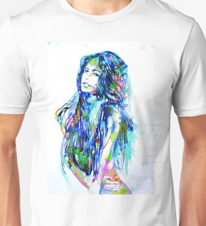 WATERCOLOR WOMAN.16 Unisex T-Shirt