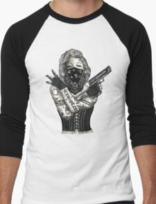 Marilyn Monroe 'Gangstified' Men's Baseball ¾ T-Shirt