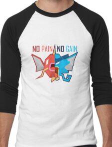 No Pain No Gain - Pokemon Men's Baseball ¾ T-Shirt