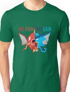 No Pain No Gain - Pokemon Unisex T-Shirt