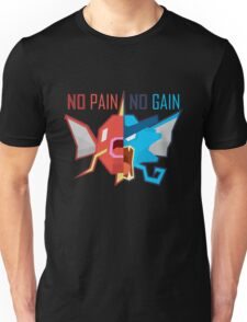 No Pain No Gain - Pokemon Unisex T-Shirt