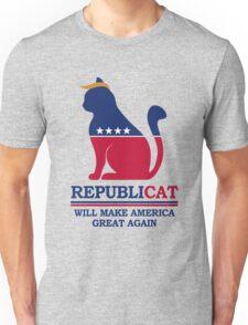 REPUBLICAT - Will Make America Great Again Unisex T-Shirt