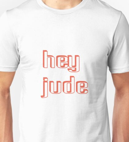 hey jude john lennon - Bodbeli Unisex T-Shirt