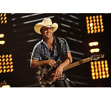 Justin Moore tour date time 2016 fd3 Photographic Print