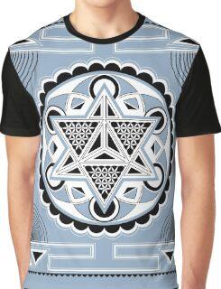 SACRED GEOMETRY - METATRONS CUBE - MERKABA - FLOWER OF LIFE - SPIRITUALITY Graphic T-Shirt