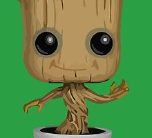 Groovy Groot by Connor Keane