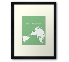 Last Guardian Framed Print