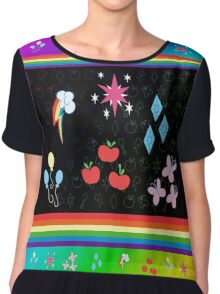 My Little Pony - Elements of Harmony Special Chiffon Top