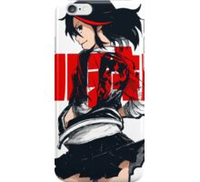 KILL LA KILL - REBEL WITH THE RED STREAK iPhone Case/Skin