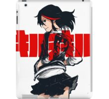 KILL LA KILL - REBEL WITH THE RED STREAK iPad Case/Skin