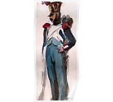Napoleon Bonaparte 's Imperial Guard  Poster