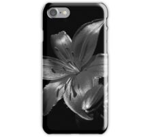 Lily in Black and White iPhone Case/Skin
