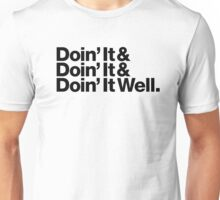 Doin' It Well Helvetica Unisex T-Shirt