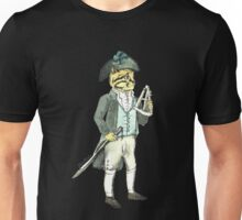 Captain Cat With A Sword And Sextant Unisex T-Shirt