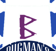 Bugman's Brewery Sticker