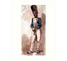 Napoleon Bonaparte 's Imperial Guard Art Print