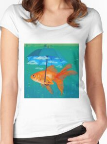 The Cloud Women's Fitted Scoop T-Shirt