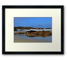 Anagry Beach, Co. Donegal. 2 Framed Print