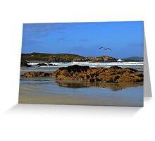 Anagry Beach, Co. Donegal. 2 Greeting Card