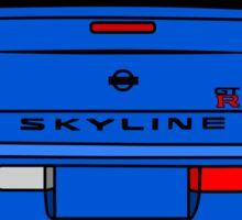 R34 Rear  Sticker