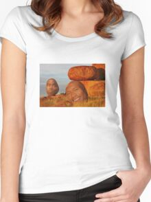 Collection Of Rocks Women's Fitted Scoop T-Shirt