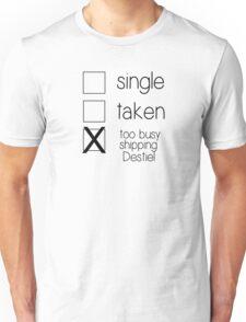 single taken destiel B Unisex T-Shirt