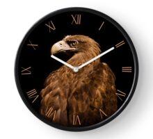 Brown Aquila chrysaetos Golden eagle Clock