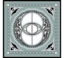 SACRED GEOMETRY - VESICA PISCIS - FLOWER OF LIFE - CHALICE WELL - SPIRITUALITY Photographic Print