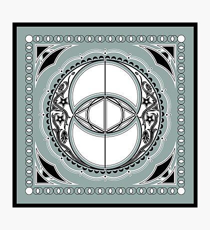 SACRED GEOMETRY - VESICA PISCIS - FLOWER OF LIFE - CHALICE WELL - SPIRITUALITY Photographic Print