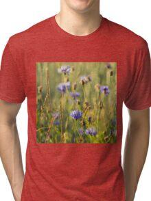 Cornflower Tri-blend T-Shirt