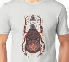 All Seeing Eye - Beetle One - Red Unisex T-Shirt