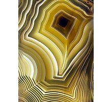 Earth Treasures - Yellow Agate  Photographic Print