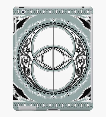 SACRED GEOMETRY - VESICA PISCIS - FLOWER OF LIFE - CHALICE WELL - SPIRITUALITY iPad Case/Skin