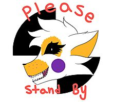 Please stand by -Lolbit- l Sister Location Photographic Print