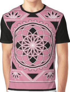 SACRED GEOMETRY - TUBE TORUS - FLOWER OF LIFE - SPIRITUALITY Graphic T-Shirt