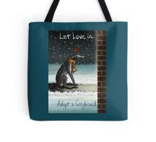 Let Love In (Posters, prints, and more) Tote Bag
