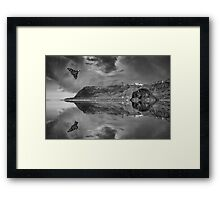 Vulcan Over Scarborough - Armed Forces Day Framed Print