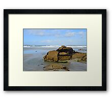 Anagry Beach, Co. Donegal. 3 Framed Print
