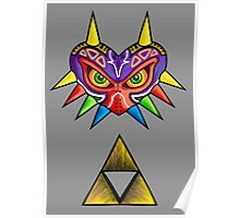 Corrupted Triforce Poster