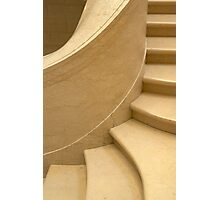 Curving staircase Photographic Print
